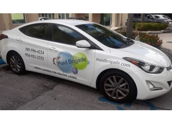 Hialeah house cleaning service Maid Brigade