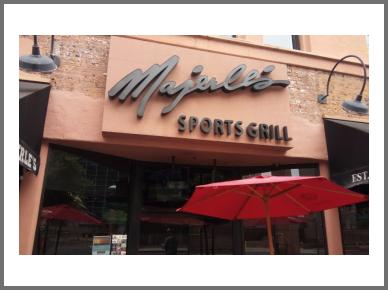 Phoenix sports bar Majerle's Sports Grill