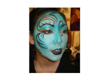San Francisco face painting Make-up Your Mind and Fantabulous Facepainting