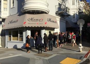 San Francisco american cuisine Mama's on Washington Square