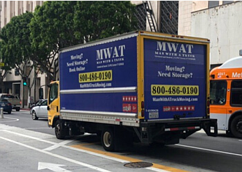 Los Angeles moving company Man With A Truck Moving Company
