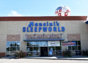 Stockton mattress store Mancini's Sleepworld