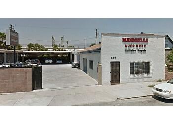 Pomona auto body shop Mandrell's Body & Paint Shop