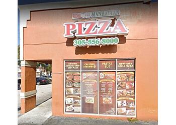Hialeah pizza place Manhattan Pizza Place