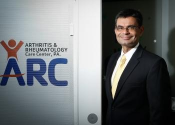 Jacksonville rheumatologist Manish Relan, MD