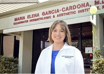 Clearwater dermatologist Maria Elena Garcia-Cardona, MD