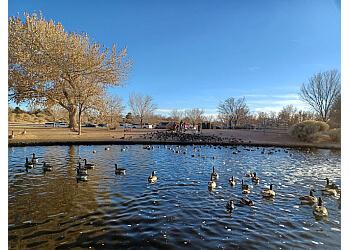 Albuquerque public park Mariposa Basin Park