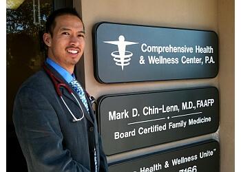 Hollywood primary care physician Mark D. Chin-Lenn, MD