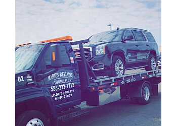 Sterling Heights towing company Mark's Reliable Towing LLC