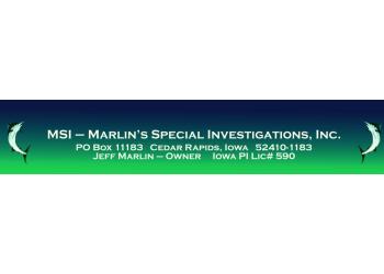 Cedar Rapids private investigators  Marlin's Special Investigations