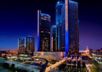 Detroit hotel Marriott at the Renaissance Center