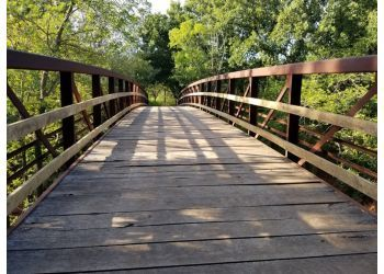 Oklahoma City hiking trail Martin Park Nature Center