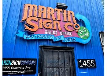 San Francisco sign company Martin Sign Company