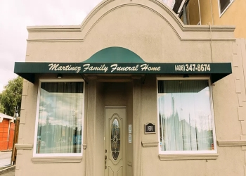 San Jose funeral home Martinez Family Funeral Home