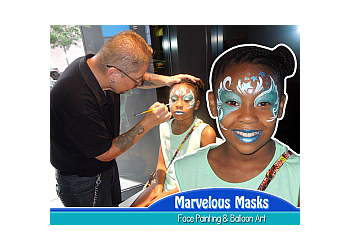Chicago face painting Marvelous Masks