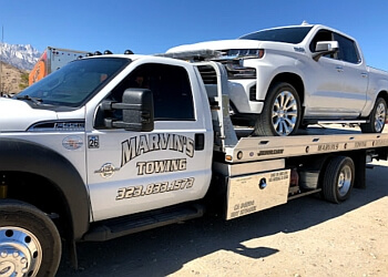 Los Angeles towing company Marvins Towing