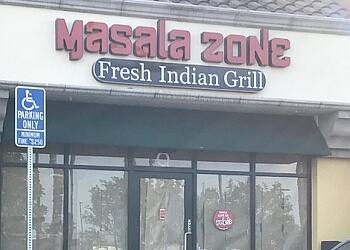 Orange indian restaurant Masala Zone Fresh Indian Grill
