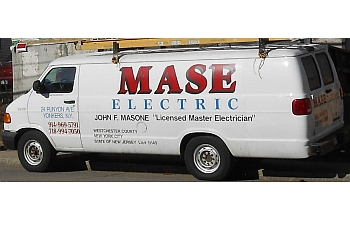 Yonkers electrician Mase Electric Inc.