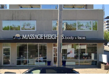 Des Moines massage therapy Massage Heights