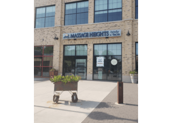 Indianapolis massage therapy Massage Heights Ironworks