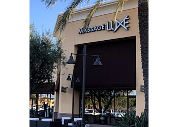 Irvine massage therapy MassageLuXe