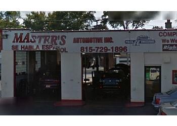 Joliet car repair shop Master's Automotive Inc.