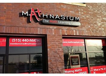 Des Moines tutoring center Mathnasium