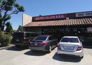 Anaheim barbecue restaurant Matiki Island barbecue