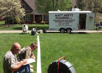 Pittsburgh plumber Matt Mertz Plumbing, Inc.