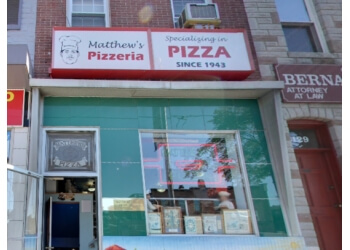 Baltimore pizza place Matthew's Pizza