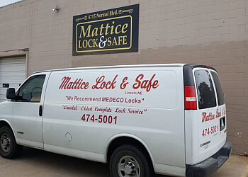 Lincoln 24 hour locksmith Mattice Lock & Safe