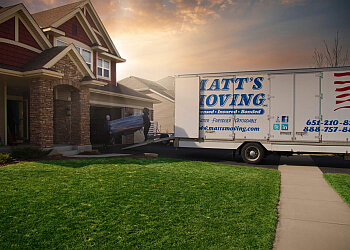 Minneapolis moving company Matt's Moving LLC.