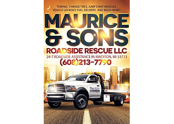 Madison towing company Maurice & Sons Roadside Rescue LLC