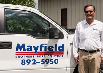 Chattanooga pest control company Mayfield Brothers Pest Control