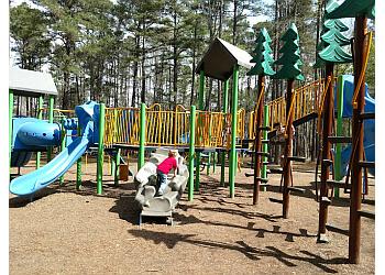 Fayetteville public park Mazarick Park