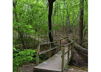 Charlotte hiking trail McAlpine Creek Park Trail
