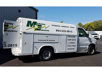 Fort Lauderdale electrician Mc Auley Electric