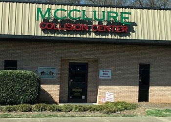 Charlotte auto body shop McClure Collision Center