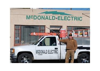 Albuquerque electrician McDonald Electric