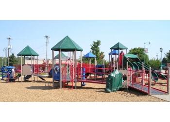 Clarksville public park McGregor Park & Cumberland Riverwalk