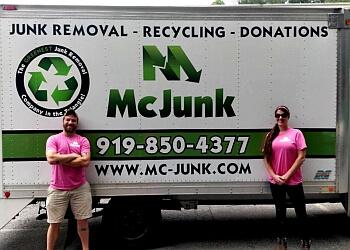 Raleigh junk removal McJunk