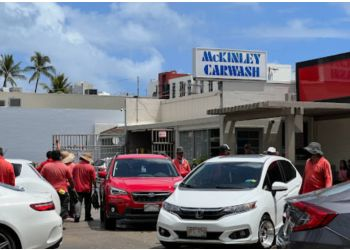 Honolulu auto detailing service McKinley Car Wash