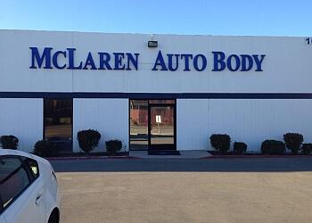 Irvine auto body shop McLaren Auto Body