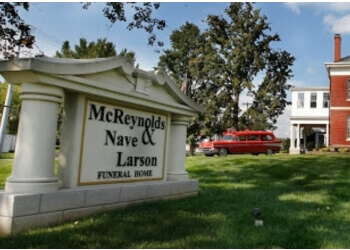 Clarksville funeral home McReynolds-Nave & Larson Funeral Home