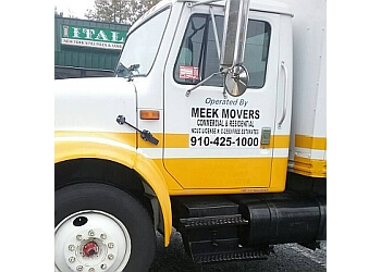 Fayetteville moving company Meek Movers