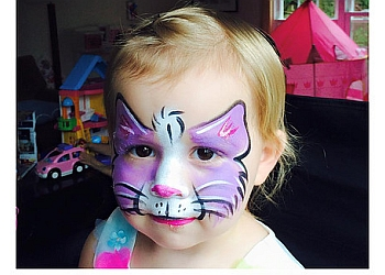 Chicago face painting Megan Raysby