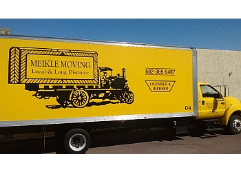 Peoria moving company Meikle Moving LLC