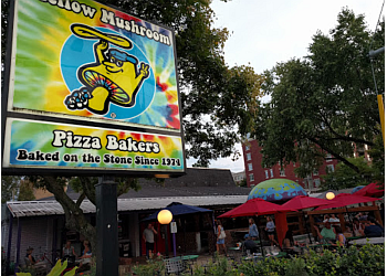 Raleigh pizza place Mellow Mushroom