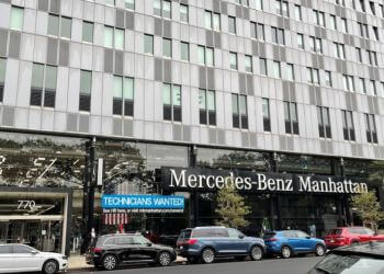 New York car dealership MERCEDES-BENZ MANHATTAN