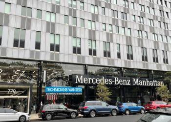 New York car dealership Mercedes-Benz Manhattan
